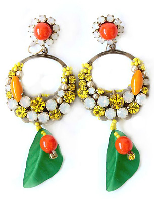 Accessories, Bright Colored Accessories, Earrings